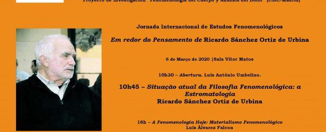 Jornada de Estudos Fenomenológicos Coimbra 2020