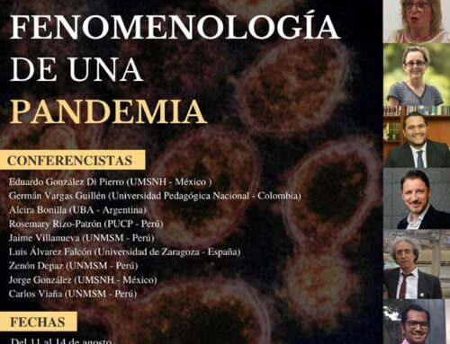 Coloquio Nuestro mundo de la vida: Fenomenología de una Pandemia