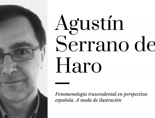 Fenomenología trascendental en perspectiva española. A modo de ilustración